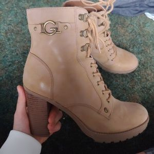 Light Brown Boots (Macy's/Guess)